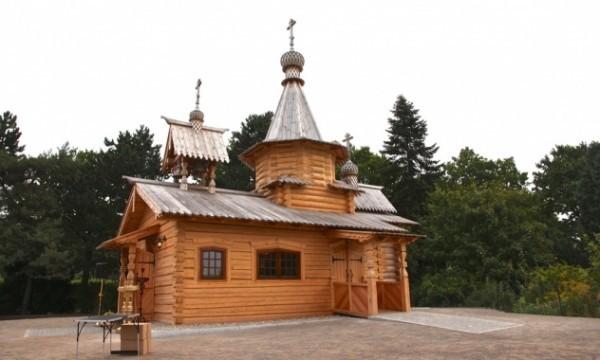 В Гамбурге освящен деревянный храм во имя святых жен-мироносиц