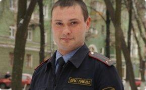 Инспектор ДПС Олег Меледин