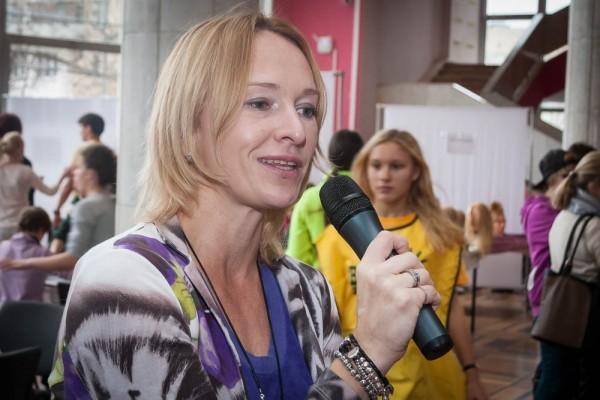 Руководитель благотворительного фонда Елена Хорс