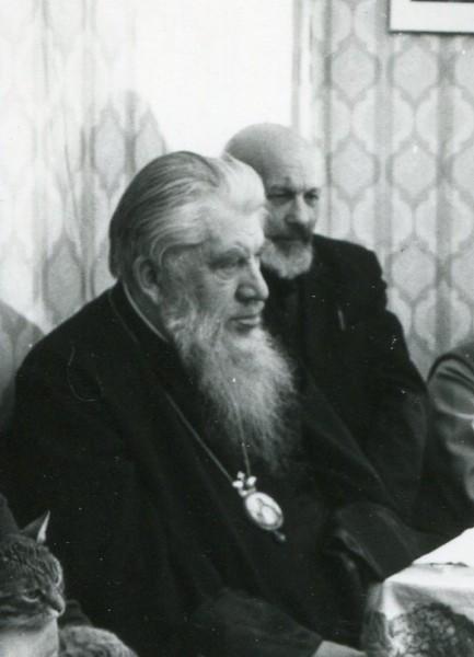 С митрополитом Иоанном. 14.01.1989