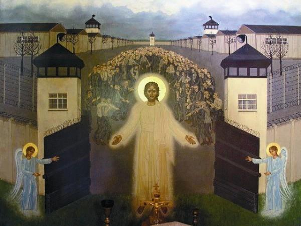 Христос освобождает узников Дахау