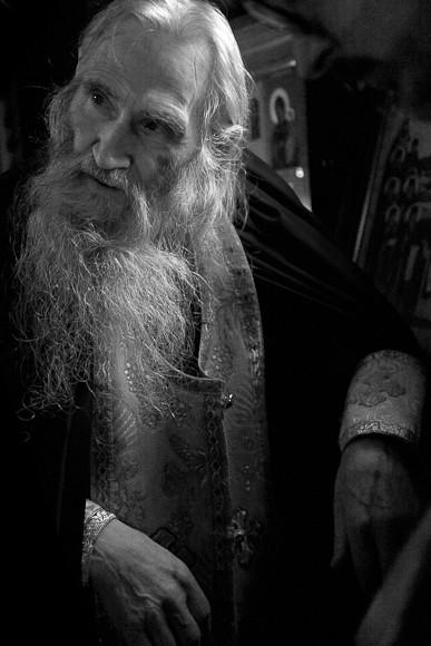 Старец (Схиархимандрит Илий). Переделкино, 2012