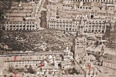 Разрушенные монастыри Московского Кремля восстановят с помощью аэрофотоснимка 1918 года