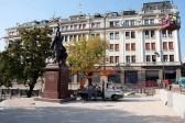 В центре Белграда установили памятник российскому царю-страстотерпцу Николаю Второму