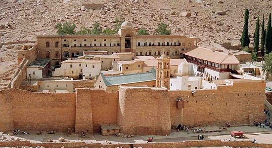 Монастырь святой Екатерины на Синае опровергает сообщения о нападениях
