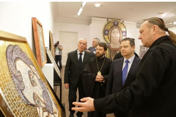 Определены победители в конкурсе на проект внутреннего убранства храма святого Саввы в Белграде