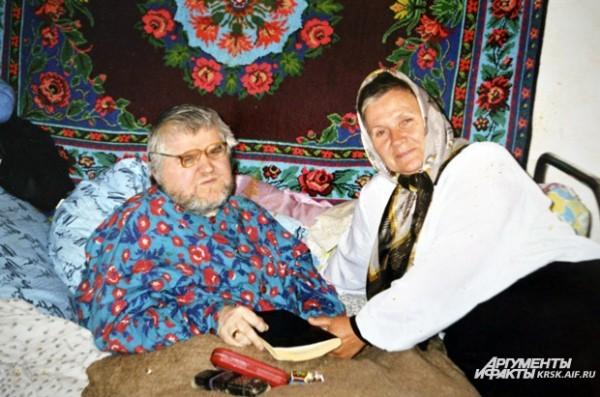 Алевтина Хориняк и Виктор Сечин