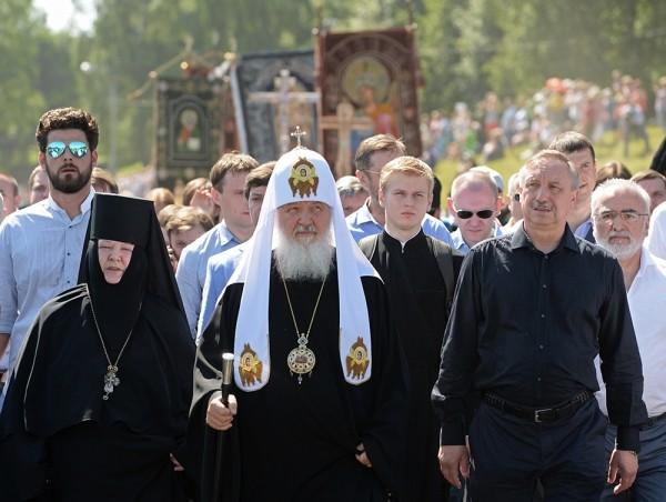 Патриарх Кирилл: Преподобный Сергий — пример того, как преодоление себя возвышает личность до планетарных масштабов