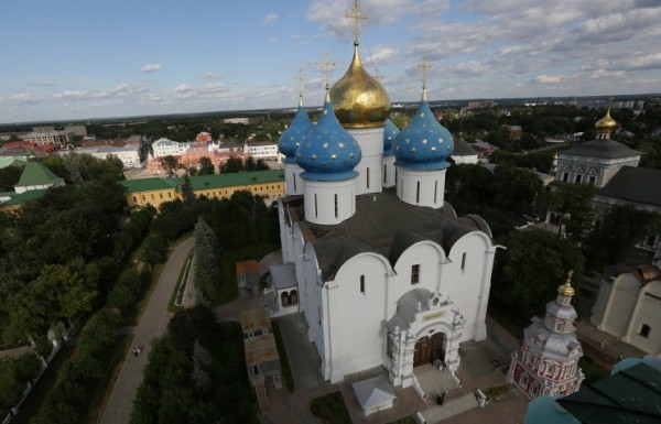 Открыт виртуальный тур по святыням Троице-Сергиевой Лавры