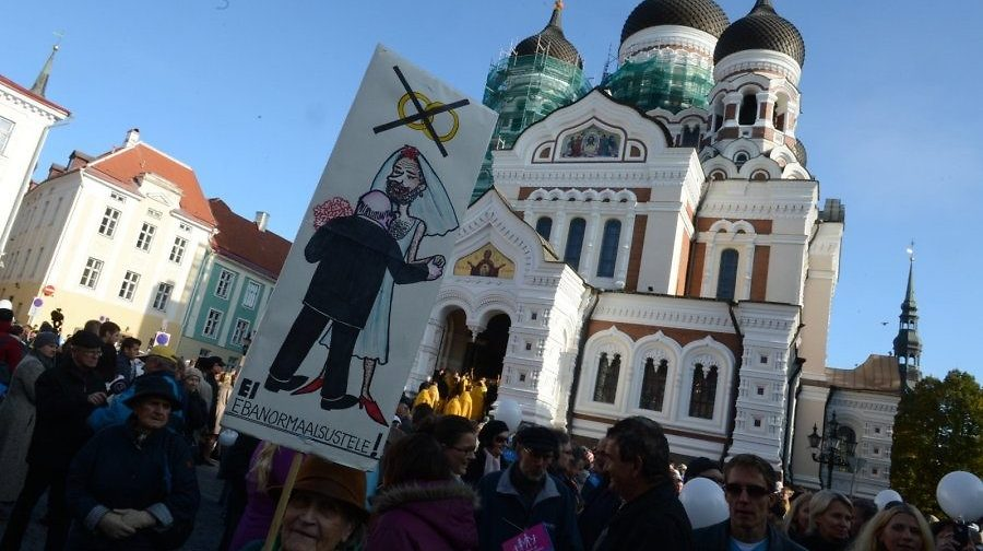 В защиту семьи: эстонцы выступают против закона «о сожительстве»
