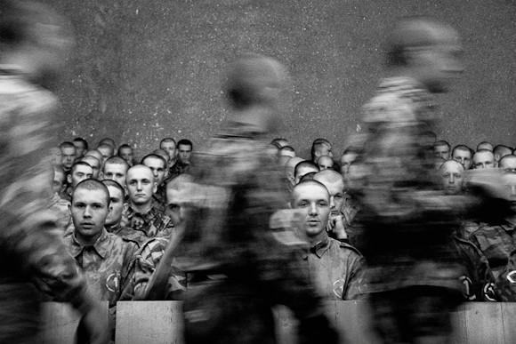 Кинопросмотр. Войсковая часть №12801 Нижегородской области (дисциплинарный батальон), 2005