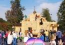 В Волгоградскую область доставили обыденный храм, подаренный Москвой
