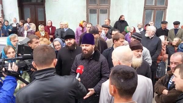 Епископ Львовский и Галицкий Филарет о захвате храма: На Божьем Суде провокаторам откупиться не удастся