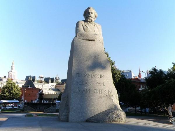 Памятник Карлу Марксу в Москве. Фото turizm-lib.ru