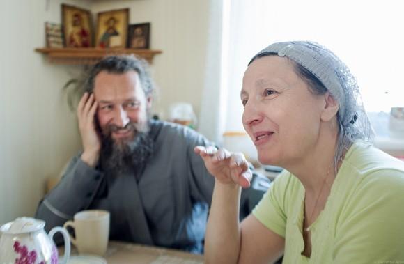 Матушка Ольга Юревич и протоиерей Андрей Юревич