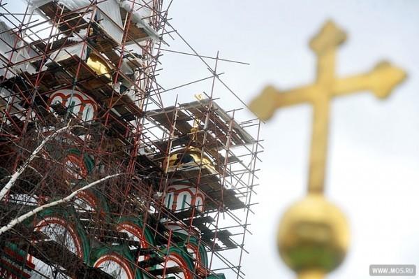 Храм Сергия Радонежского на Ходынке достроят в 2016 году
