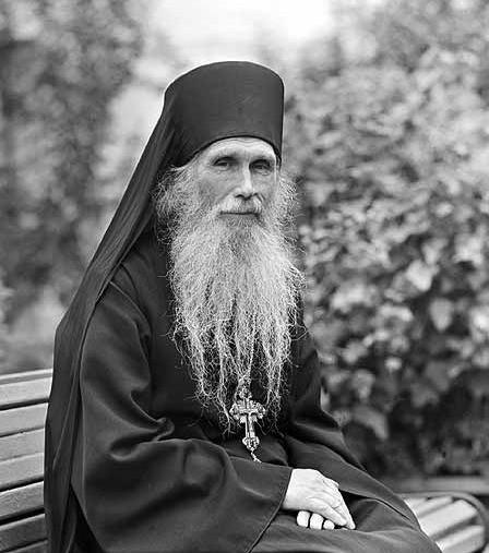 Лаврский духовник архимандрит Кирилл