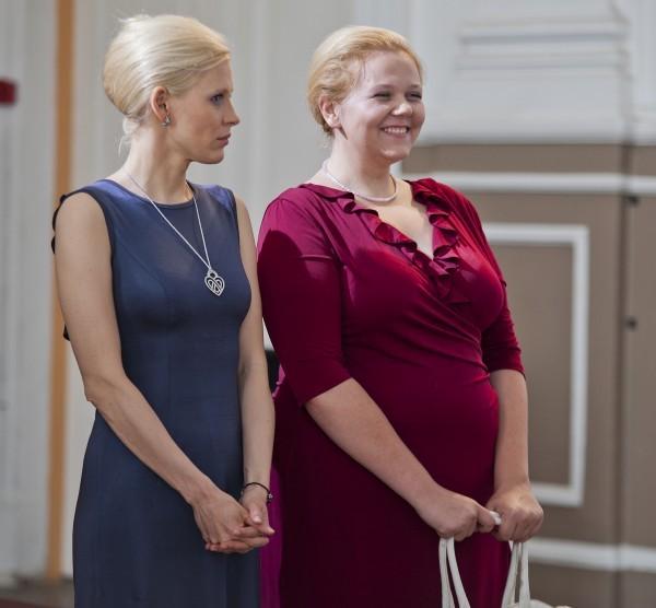 А. Щербинина и О. Попова
