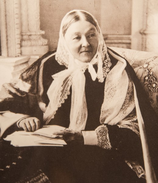Флоренс Найтингейл, английская сестра милосердия и общественный деятель. Реформировала систему помощи раненым