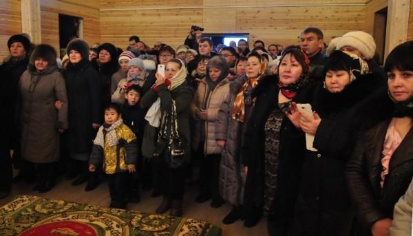 Освящение храма - большое событие в жизни поселка