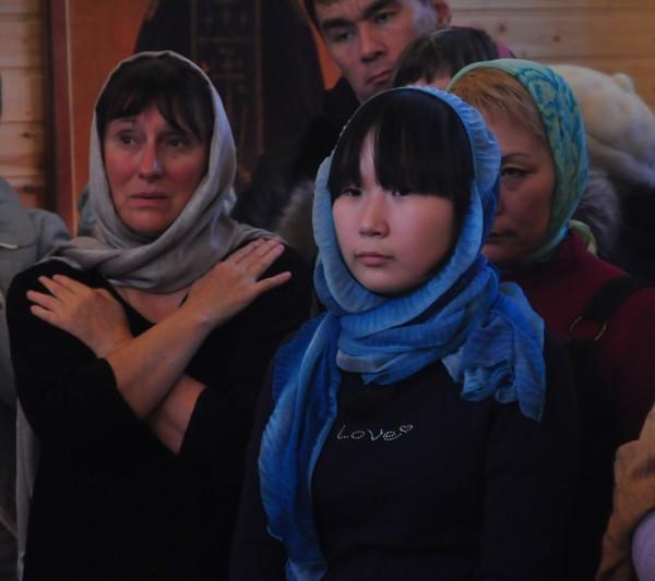 Якутская девочка Сардана и староста Марина Викторовна