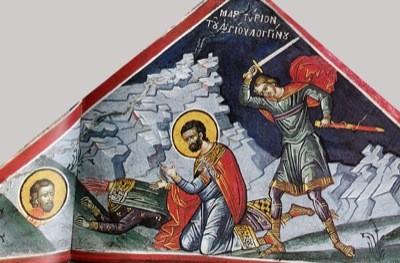 Церковь чтит память святого мученика Лонгина сотника, римского воина