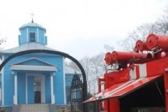Неизвестные подожгли храм в Черниговской епархии