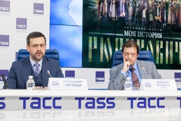 Владимир Легойда и Максим Рыжков