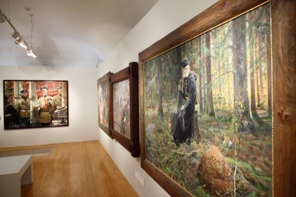 В Москве открылась первая посмертная выставка работ Павла Рыженко