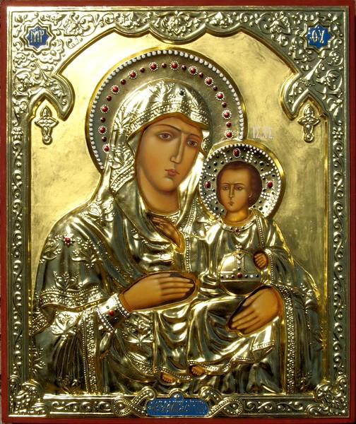 Иерусалимская икона Божией Матери. Образ