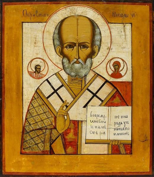 У святителя Николая в Бари