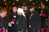 Митрополит Иларион выступил на заседании Синода католических епископов в Ватикане