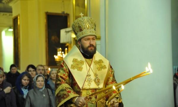 Митрополит Иларион: Мы сможем стать подлинными христианами, если научимся любить не только друзей, но и врагов