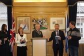 В Шотландии открыли памятник Лермонтову