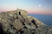 На вершине Афона строится новый храм Преображения Господня