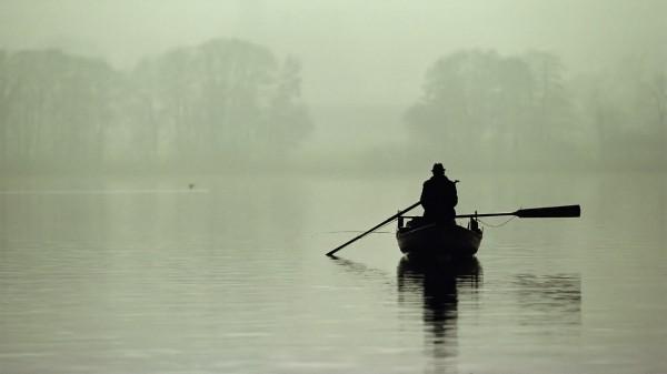 Человек в лодке