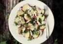 Теплый салат с треской и картошкой. Видеорецепт от Анны Людковской