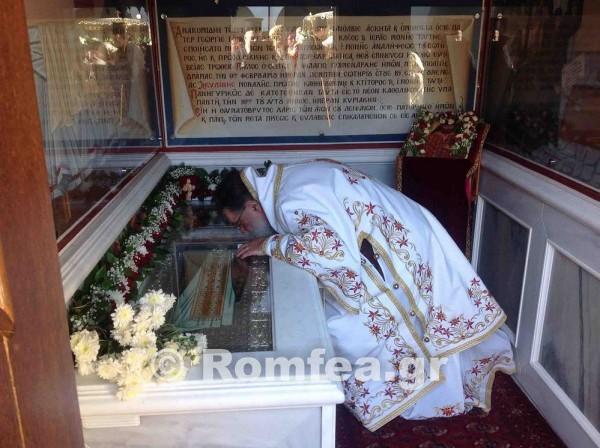 Греческий митрополит свидетельствует о своем чудесном исцелении по молитвам святого