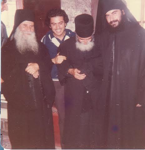 Старец Иосиф, старец Паисий, будущий митрополит Афанасий