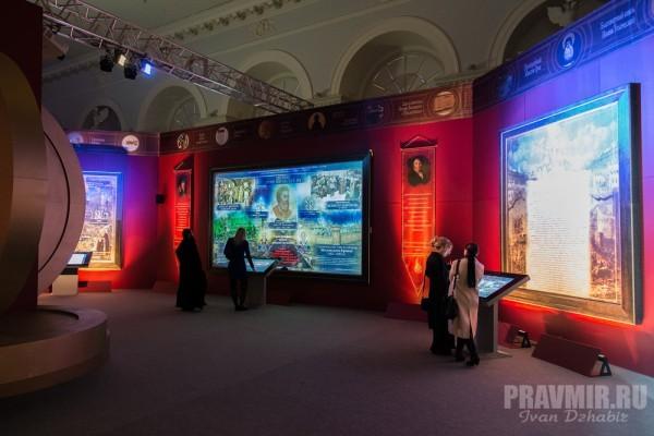 """Более 50 тысяч человек побывали на выставке """"Православная Русь. Моя история. Рюриковичи"""""""