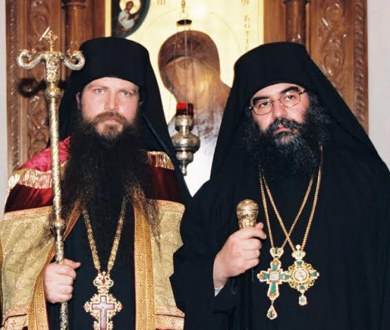 Игумен Арсений и митрополит Афанасий