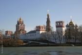 Московская епархия опровергла информацию о пожаре в Новодевичьем монастыре
