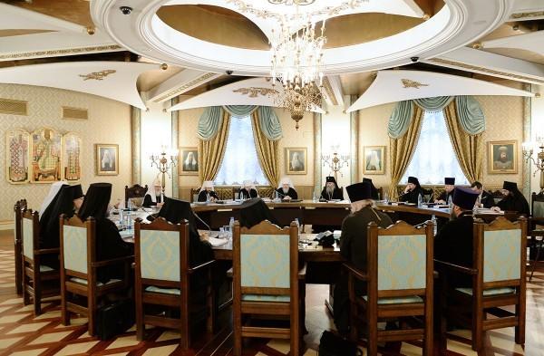 В Москве открылось очередное заседание Высшего Церковного Совета Русской Православной Церкви