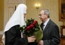 Святейший Патриарх Кирилл наградил Евгения Примакова орденом «Славы и чести»