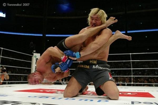 Бой Федора Емельяненко на площадке MMA