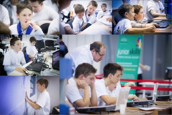 Школьники приняли участие в чемпионате рабочих профессий