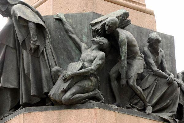 Гордость. Деталь монумента, посвященного Данте