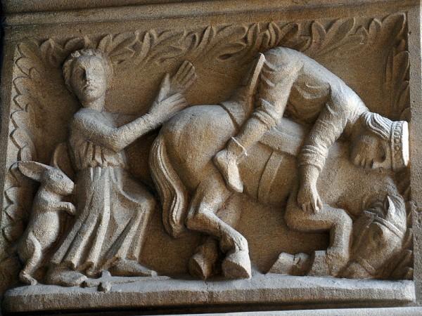 Гордость. деталь орнамента собора в Метце