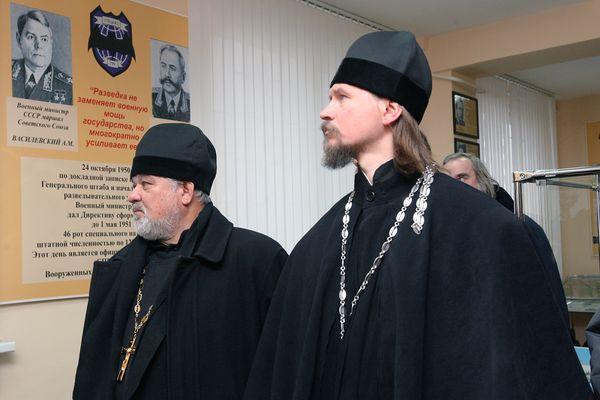 В Каспийской флотилии появились военно-морские священники