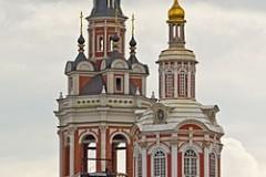 Колокольня Заиконоспасского монастыря открылась после реставрации